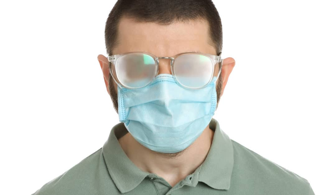 Glasses Fogging Up With Your Face Mask?